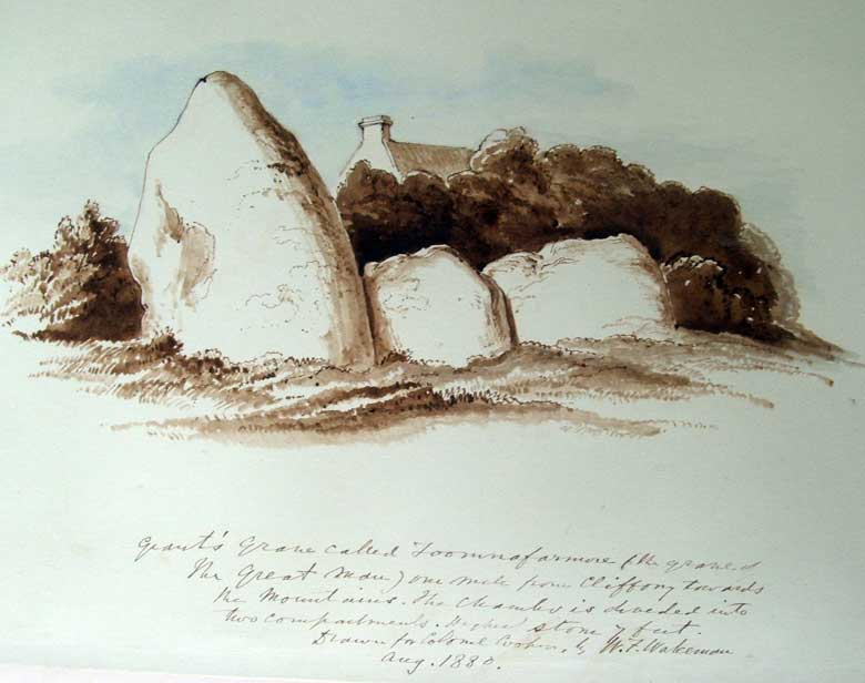 Cartronplank court tomb by Wakeman.