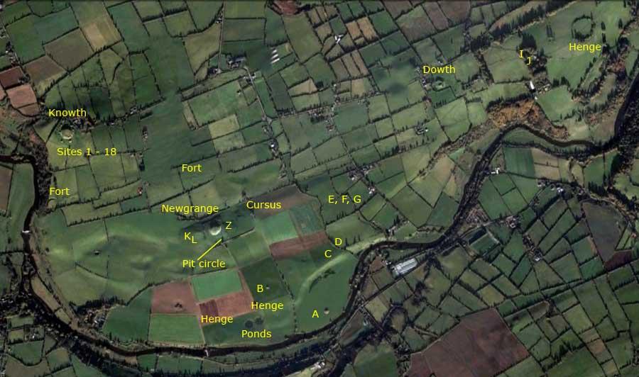 Map Of Ireland Newgrange.The Boyne Valley Newgrange Knowth And Dowth