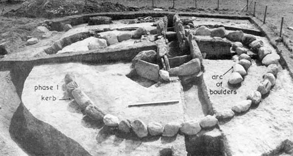 Site K during the 1966 excavations.