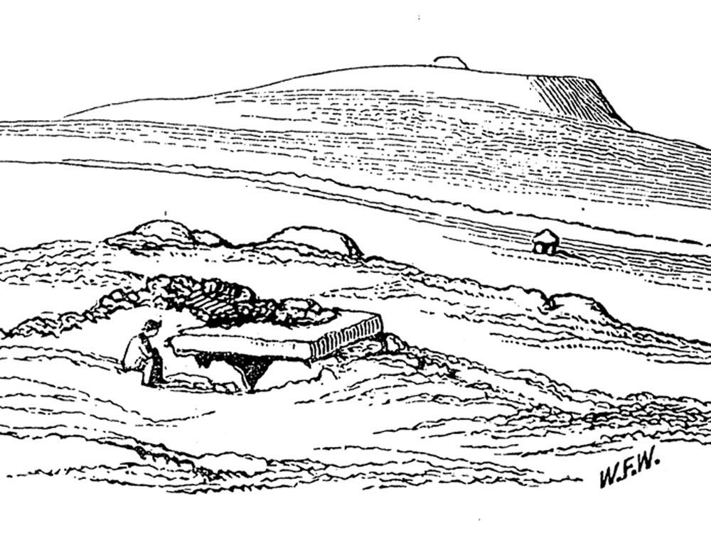 the carrowmore megalithic plex in county sligo Beach Landscapes listghil the central monument at carrowmore