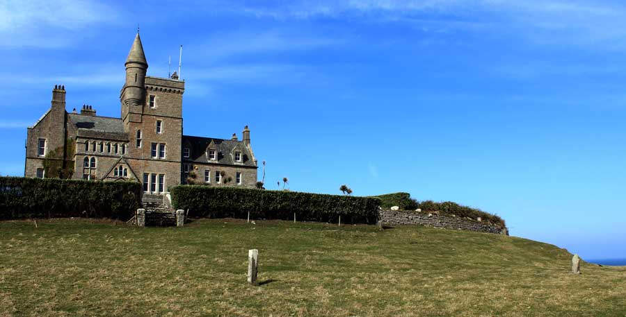 A Short History Of Classiebawn Castle Mullaghmore Co Sligo Sacred Island Guided Tours By Martin Byrne