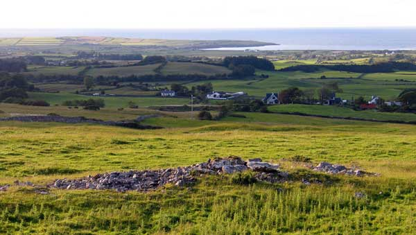 an introduction to irish megalithic court cairns sacred island